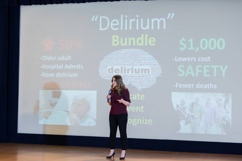 3MT Presenter #5 Delirium